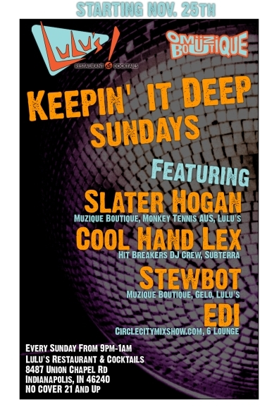 Keepin' It Deep flyer