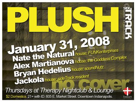 PLUSH - January 31, 2008 @ Therapy Nightclub (Indianapolis)