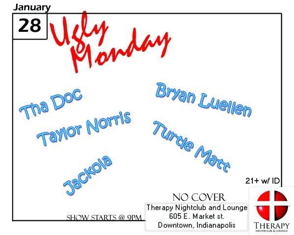 Ugly Monday, January 2008 @ Therapy Nightclub