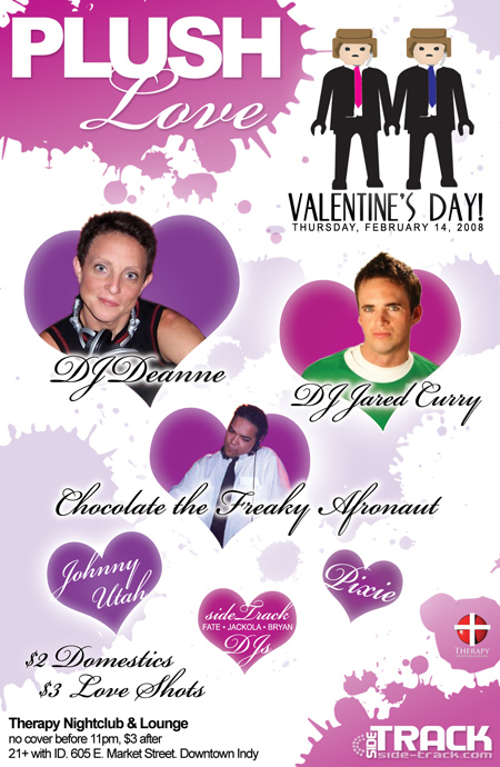 PLUSH Love, Valentines Day 2008 @ Therapy Nightclub & Lounge